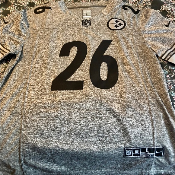 cd59430a547 Authentic Nike Pittsburgh Steelers Jersey  26 Bell